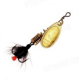 Mepps Aglia moushe Gold- Black Fly
