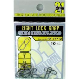Pontoon21 Eight Lock Snap segtukai nr.1