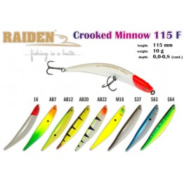 Raiden Crooked Minnow 115F