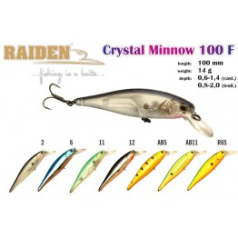 Raiden Crystal Minnow 100F