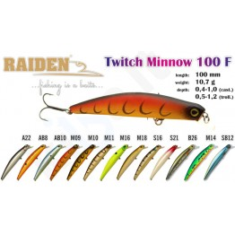 Raiden Twitch Minnow 100