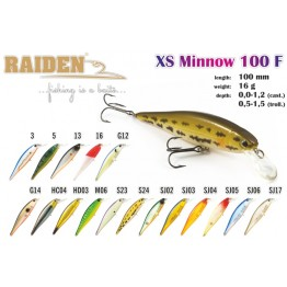 Raiden Xs-Minnow 100