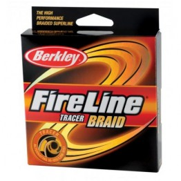 BERKLEY FIRELINE TRACER BRAID 110M YELLOW/BLACK, aštuongyslis pintas valas