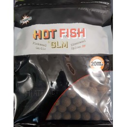 Dynamite Baits boiliai Hot Fish GLM 20mm 1kg