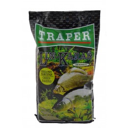 Grounbait Traper Sekret Tench cruisian carp green marzipan 1kg