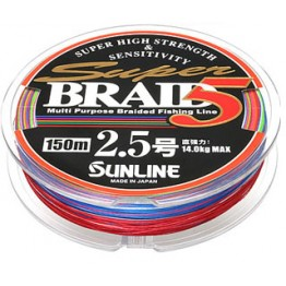 Sunline Super Braid 5 - 150 metrų