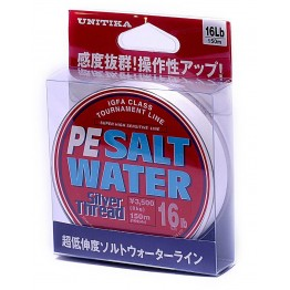 Unitika Silver Thread Salt Water PE 150m