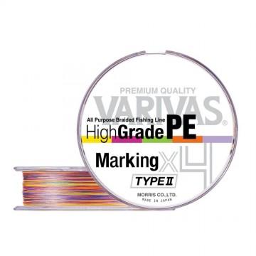 Varivas High Grade PE Marking Type II X4 150m
