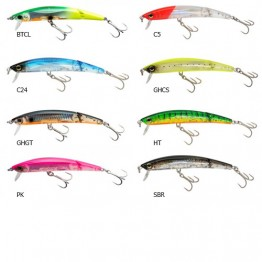 YO-ZURI CRYSTAL 3D MINNOW JOINTED  100F